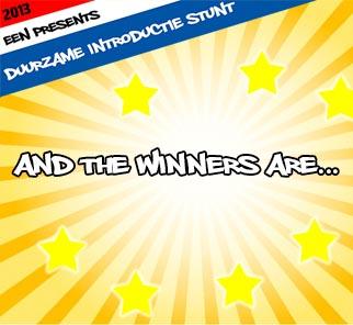 Winnaars Duurzame Introductie Stunt 2013 Bekend!