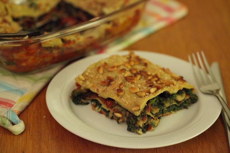Lasagne Tricolore: Vegan Challenge Recept!