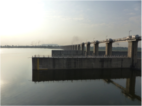 The Vasana Barrage – Downstream The Sabarmati Part I.
