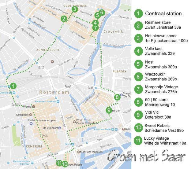 Tweedehands Shoppen Rotterdam