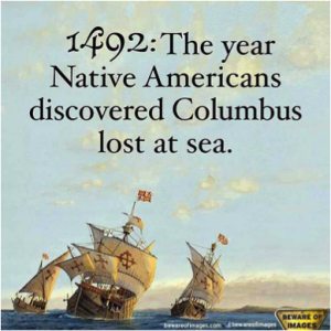 columbus native americans