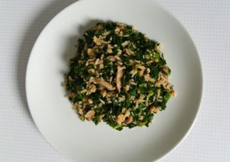 shiitake rijst boerenkool
