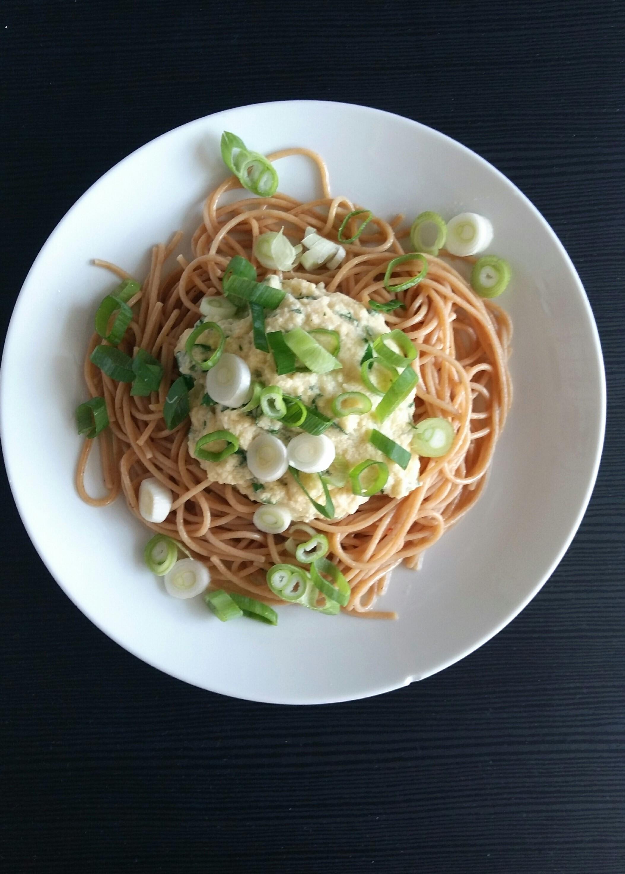 Spaghetti Met Aspergesaus
