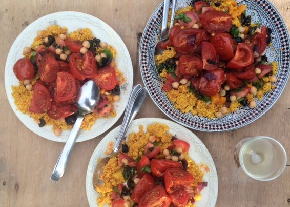 Slow Roasted Tomaten Met Couscous