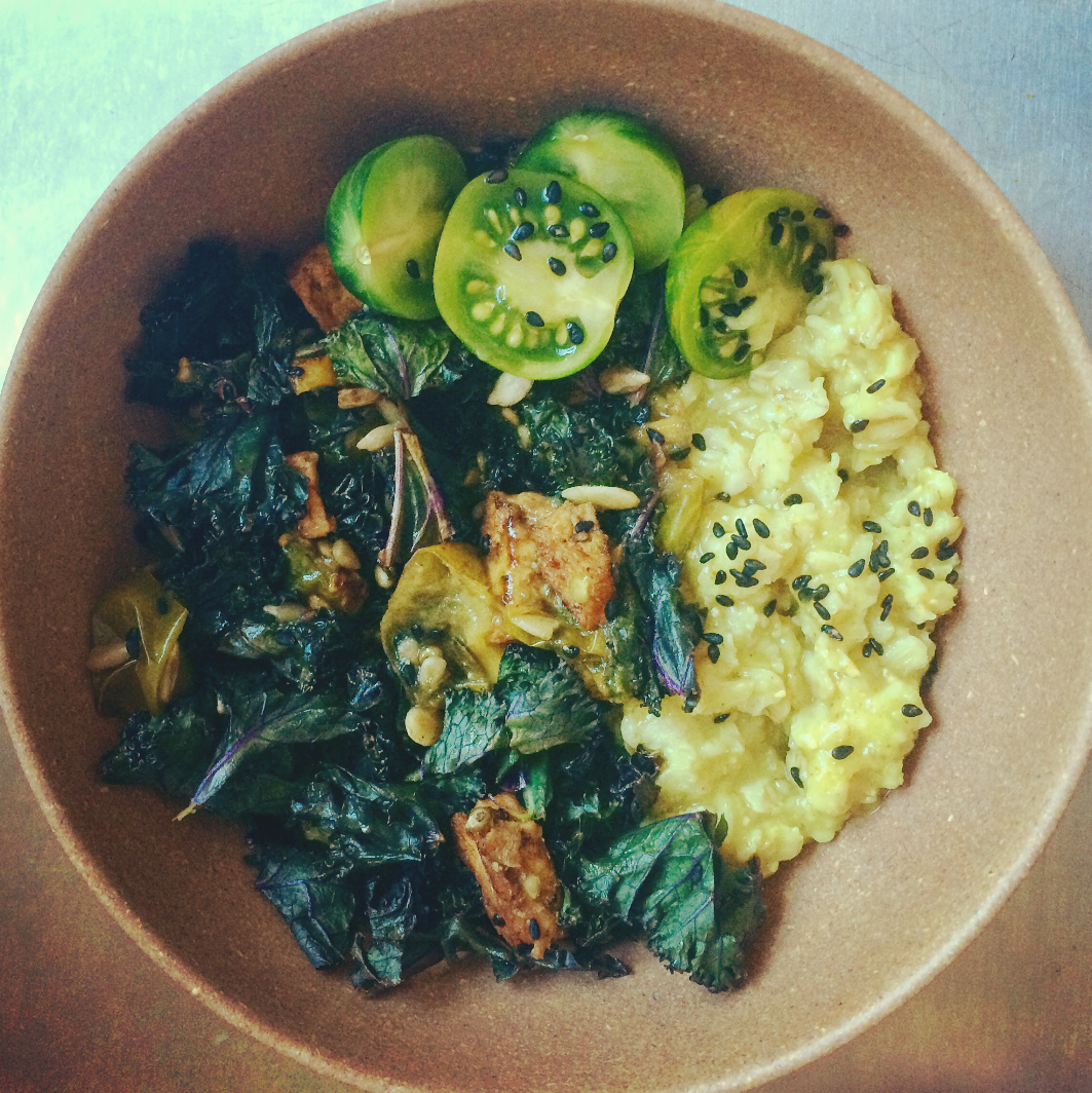 Instagramtrend: Hartige Havermoutbowl (vegan)