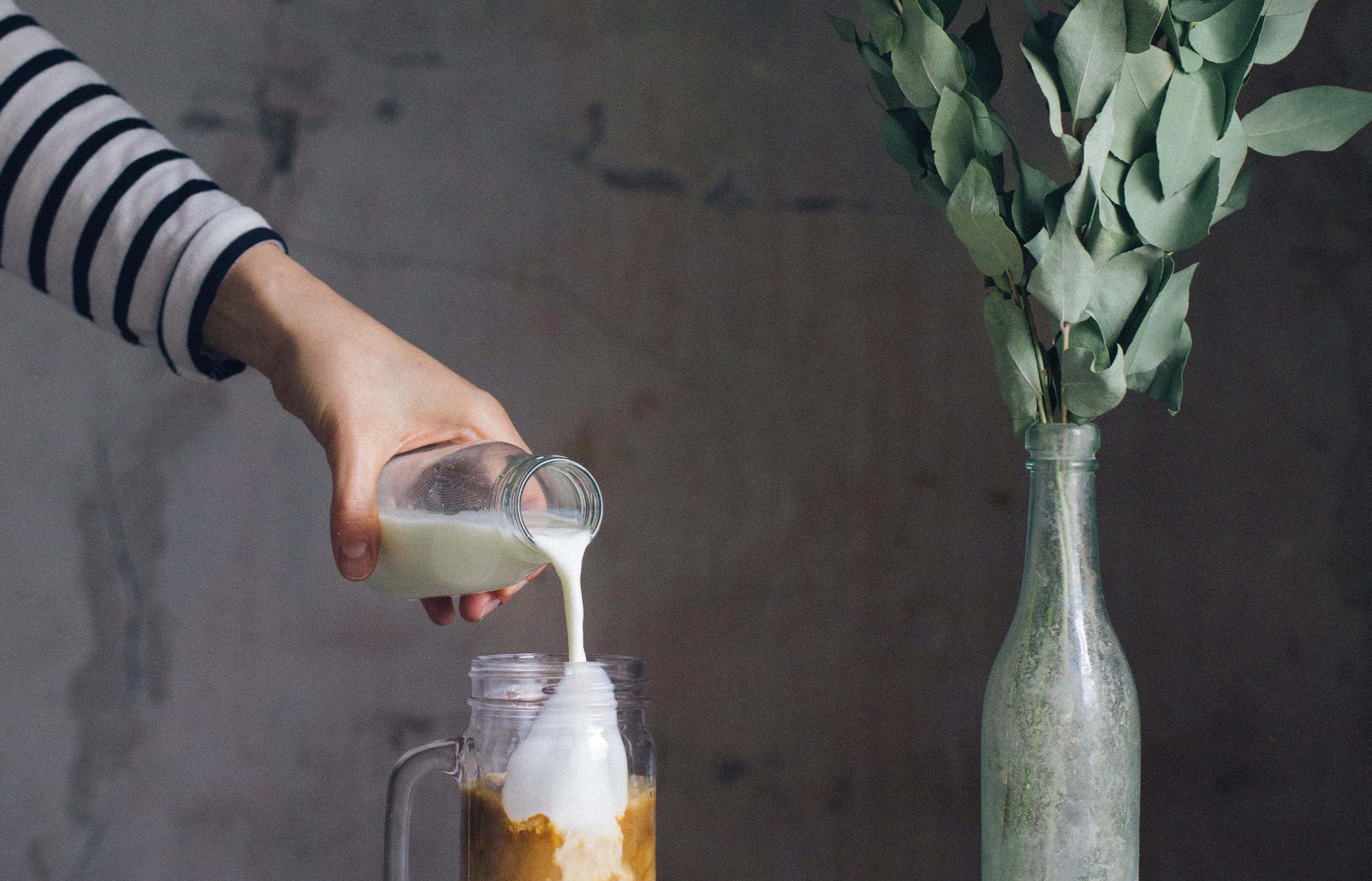 Plantaardige Melk Alternatief Koemelk Duurzaam