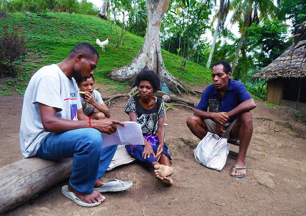 De Psychologie Achter Duurzame Zoete Aardappelen In Papoea-Nieuw-Guinea