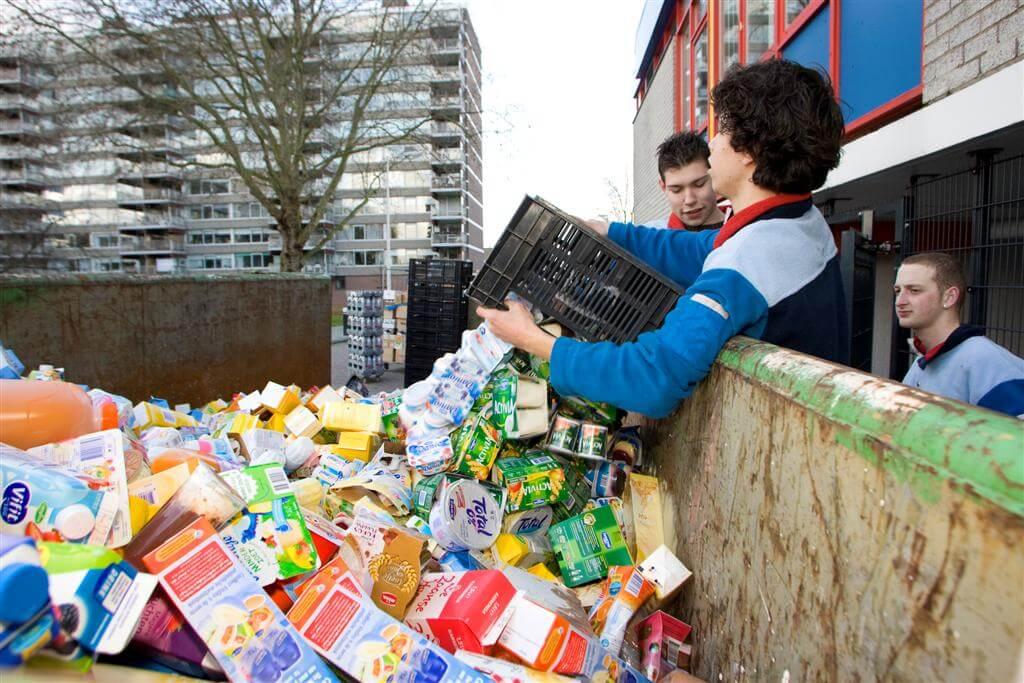 Met Hetzelfde Gemak, Gooien We Ons Eten Niet Meer In De Afvalbak